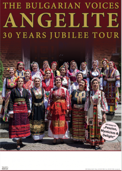 poster 30 Years Bulgarien Voices Angelite